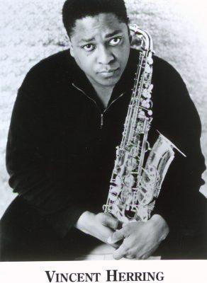 00169 Vincent Herring bw pose sax