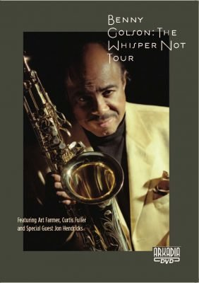 72004 BENNY GOLSON The Whisper Not Tour Cover