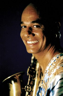 T.K. Blue Saxophone